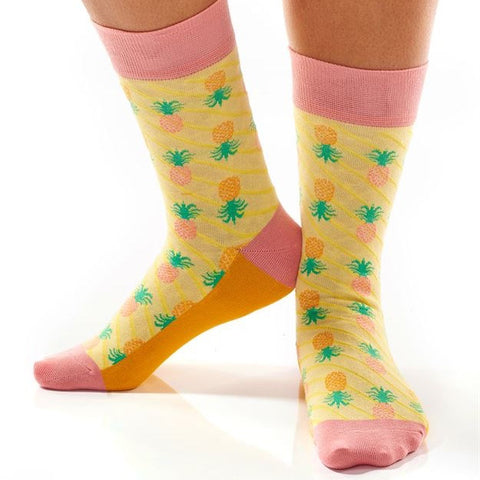 Pineapples Crew Socks