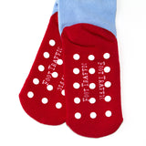 Ruby Red Slipper Socks Soles