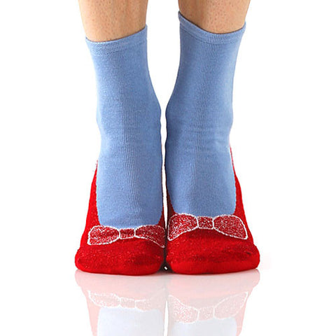Ruby Red Slipper Socks