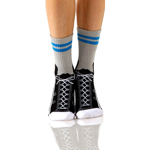 Sneakers Slipper Socks with Grips