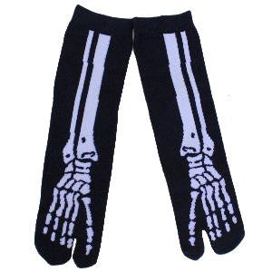 Skeleton Tabi Socks