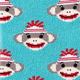Sock Monkey Crew Socks