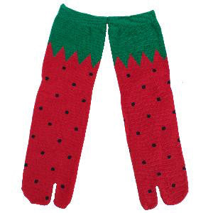 Strawberry Tabi Socks