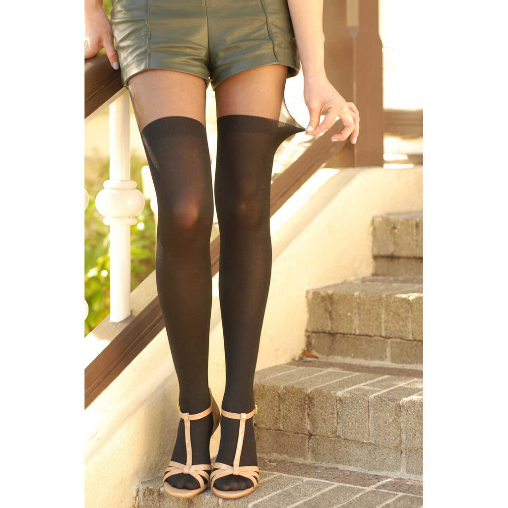 Secret Over-the-Knee Sheer Tights