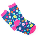 Buttons Crew Socks
