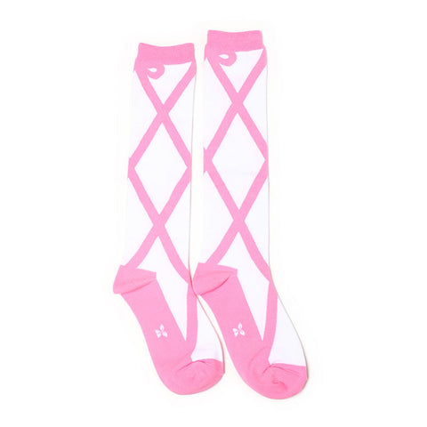 Ballet Shoes Knee High Socks