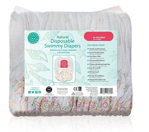 Little Toes Swimmy Diapers - 24 Count - Sanitizerworld