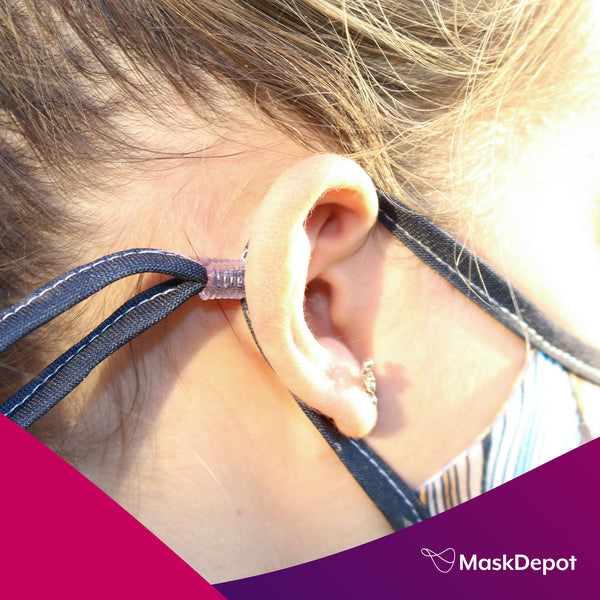how to adjust maskdepot ear loops for perfect fit