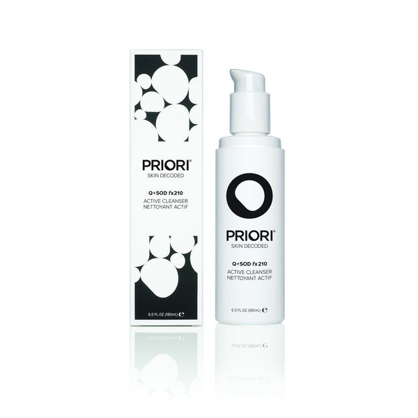 PRIORI Q+SOD fx210 Active Cleanser 180 ml