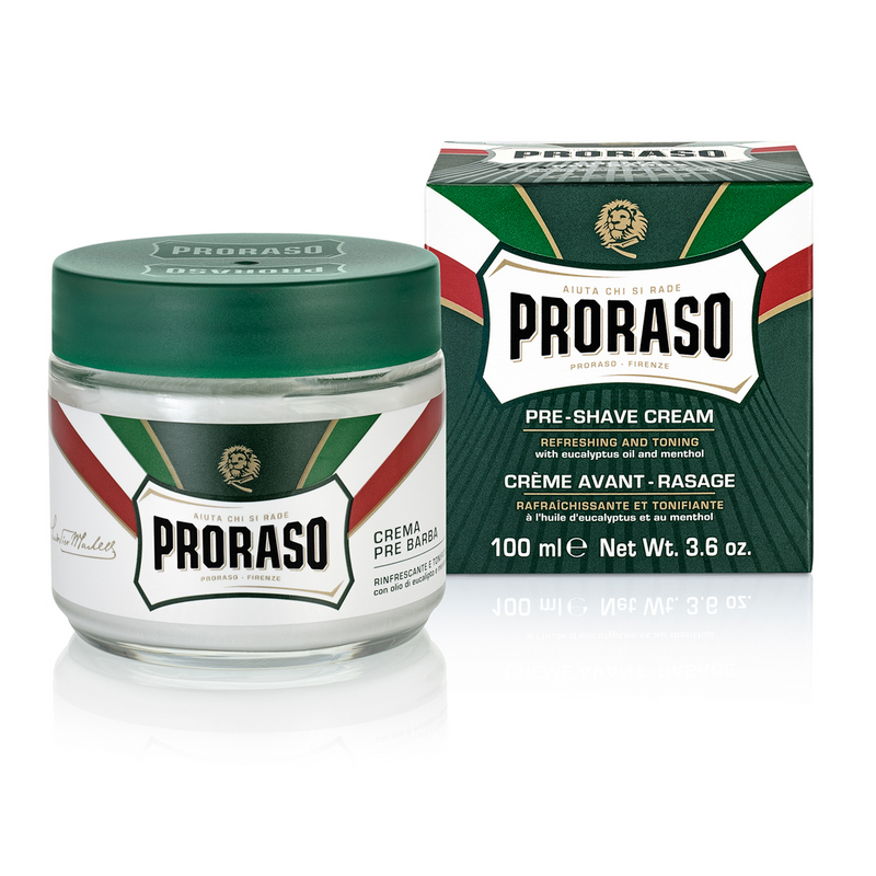 Proraso Preshave Cream - Refresh, Eucalyptus & Menthol, 100 ml