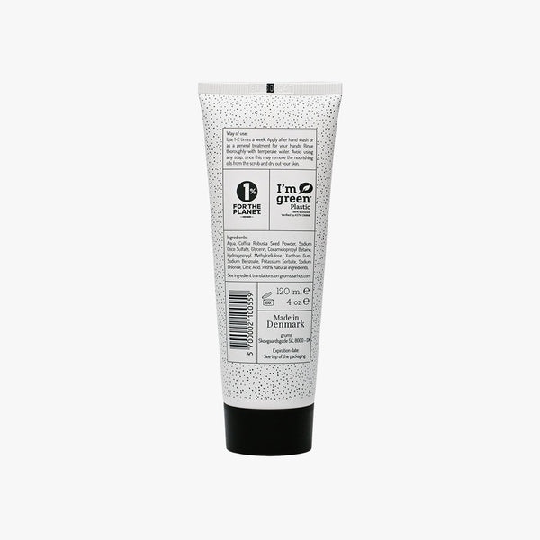 Grums Raw Coffee Hand Scrub + Wash 120 ml