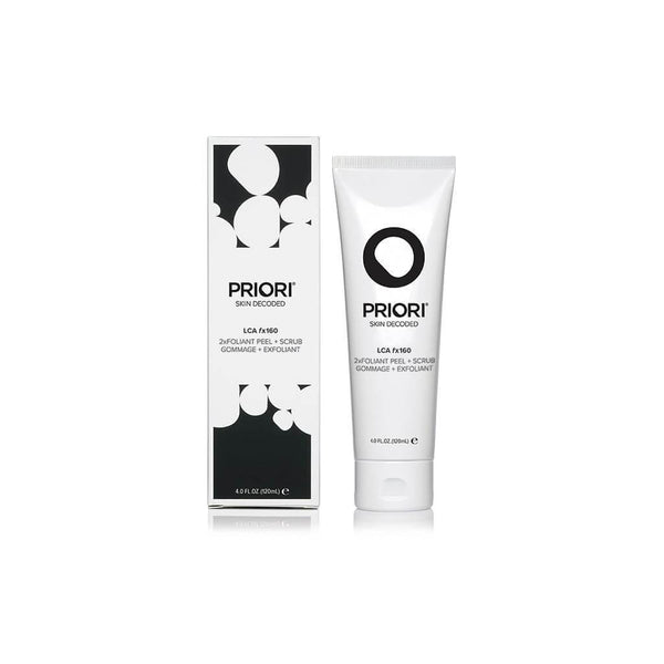 PRIORI LCA fx160 2xFoliant Peel + Scrub for Face and Body 120 ml