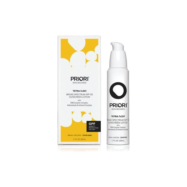 PRIORI Tetra fx251 Tinted Sunscreen SPF 50 50 ml
