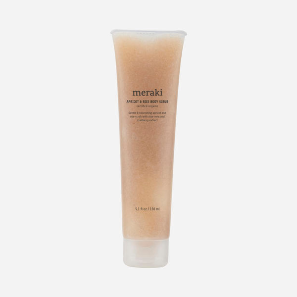 Meraki Apricot & Rice Body Scrub 150 ml