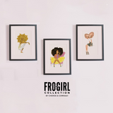 Fro Girl Collection 3-piece Art Print Set
