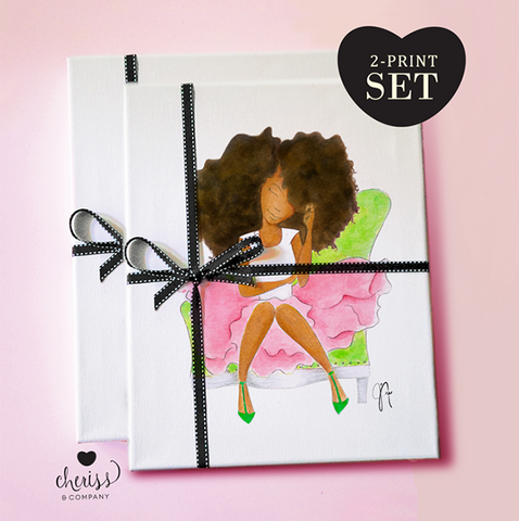 Perfect Pair Art Print Set