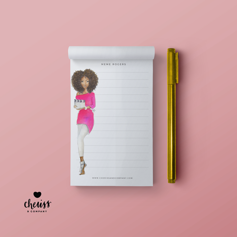 The Boss - Everyday Woman Notepad