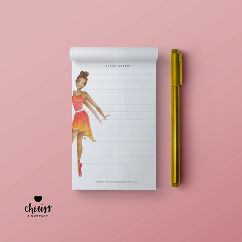 The Dancer - Everyday Woman Notepad