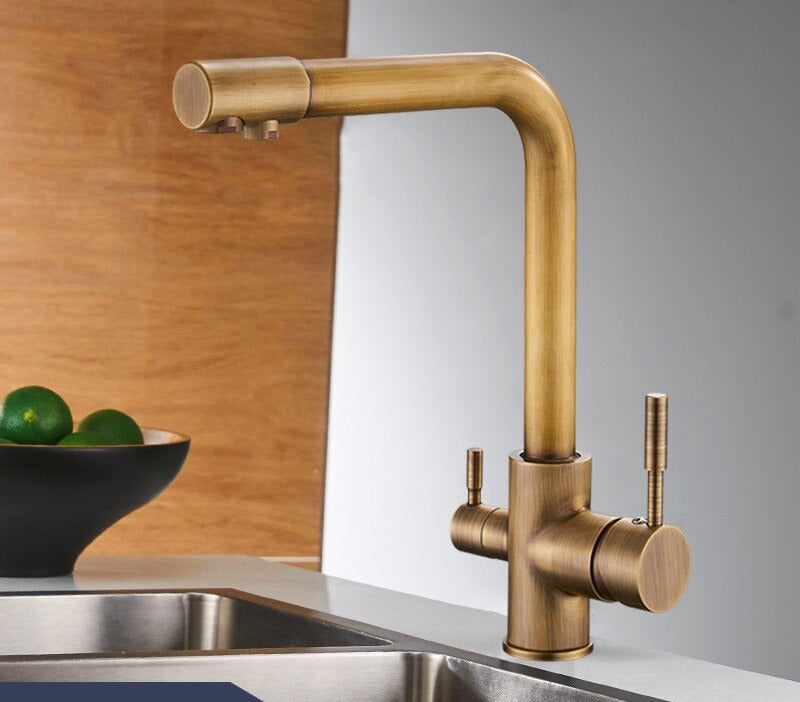 Purification Tap Dual Handle Kitchen Faucet