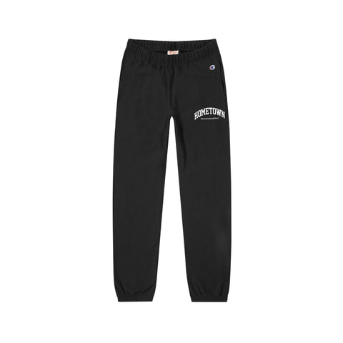 """HOMETOWN"" ThanksForStayingHome ™ <br> Champion Sweatpants (BLACK)"