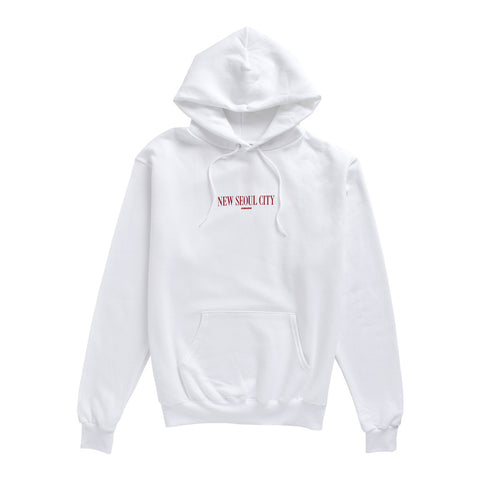 "Champion® ""New Seoul City"" Hoodie - White"