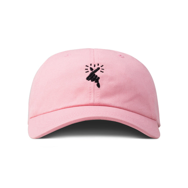 HEART x Pink Low Profile Hat