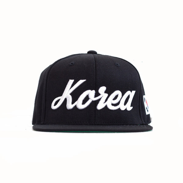 KOREA x BLACK Snapback