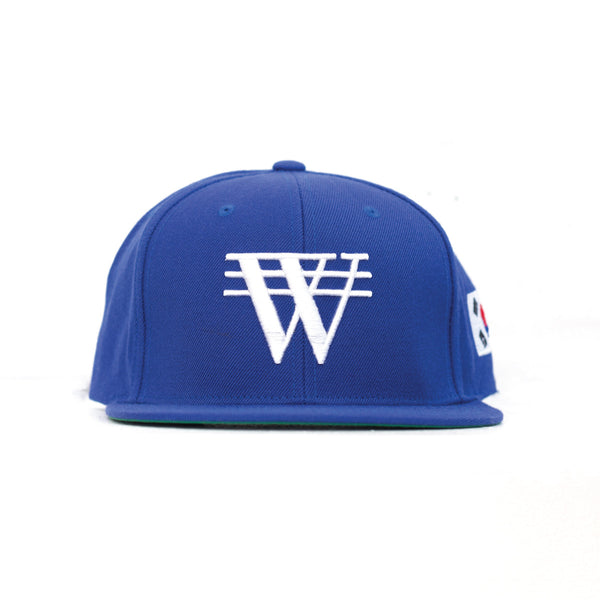 ₩ON x ROYAL BLUE Snapback