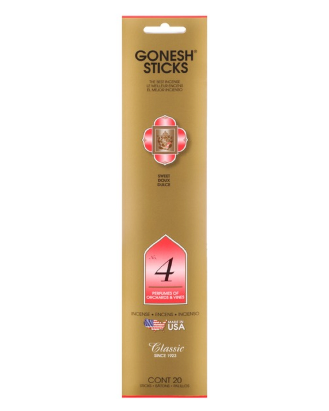 Gonesh Incense Stick No. 4