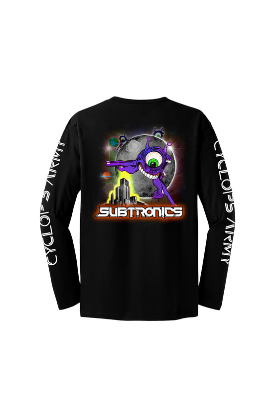 Subtronics - Cyclops Army - Black Long Sleeve