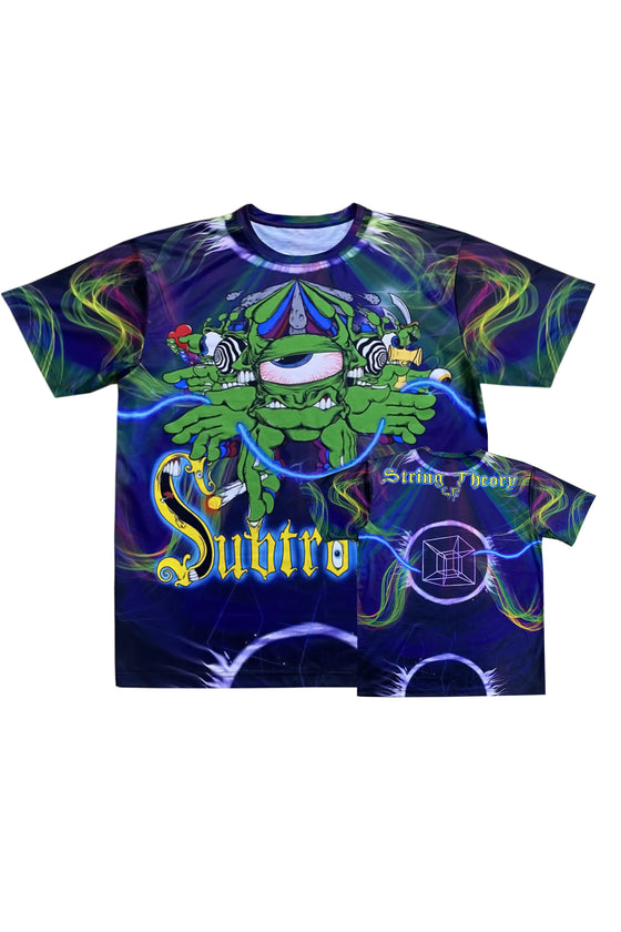 PRE ORDER - Subtronics - String Theory - All Over Tee