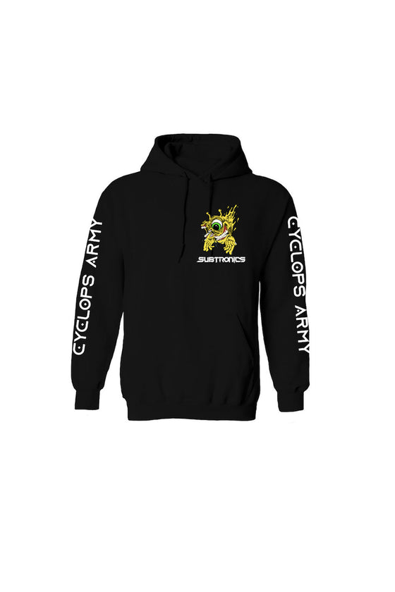 Subtronics x Aaron Brooks - Cyclops Army - Pullover Hoodie