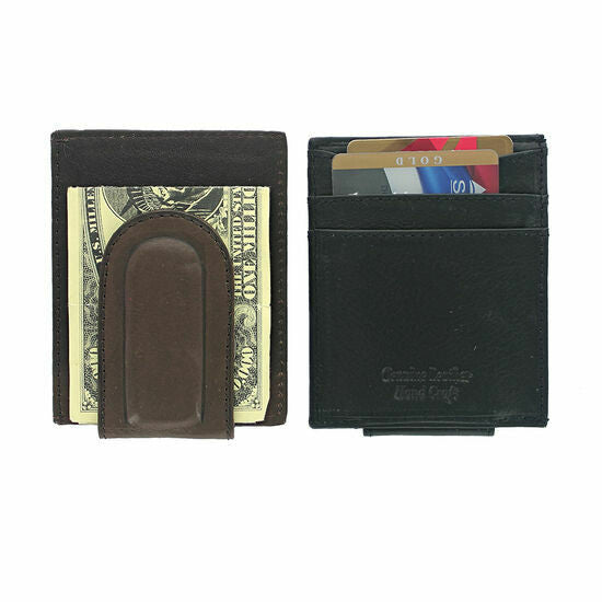 FRONT POCKET COMBO WALLET - BLACK