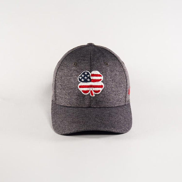 USA Heather Grey Flag Hat by Black Clover