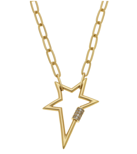Lola Star Screw Lock Necklace