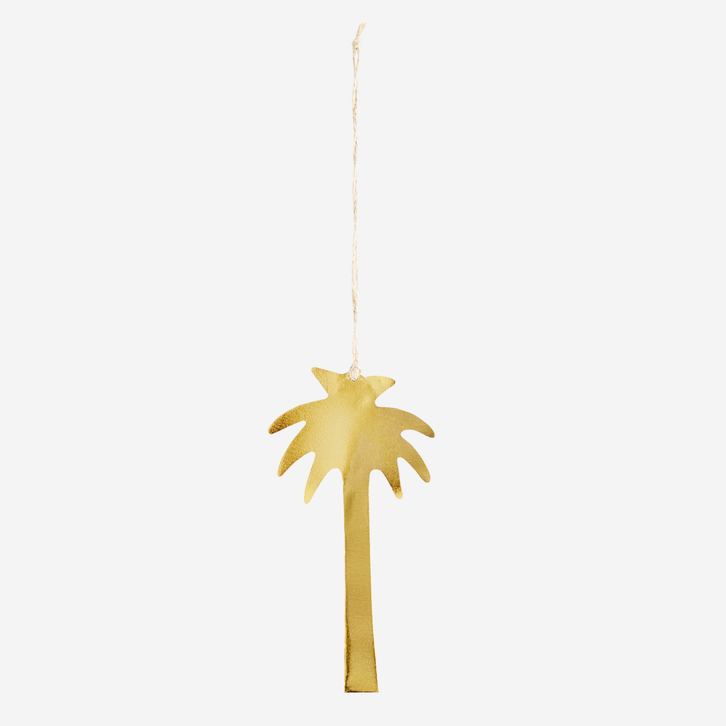 Hanging palm gold