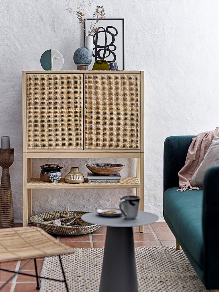Wall seagrass basket