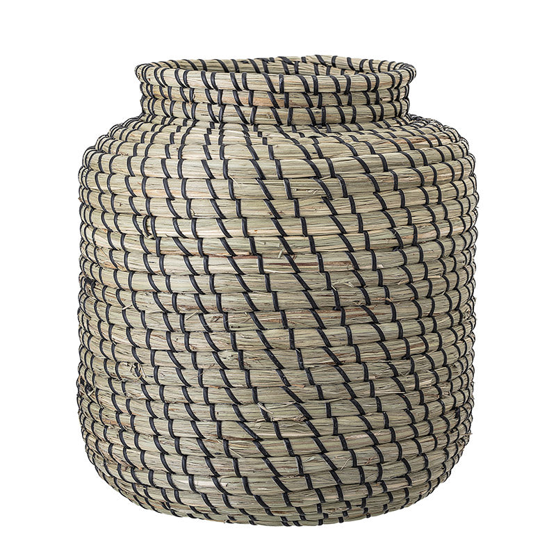 Basket Seagrass with black details