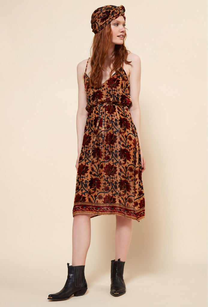 Chopin dress floral print