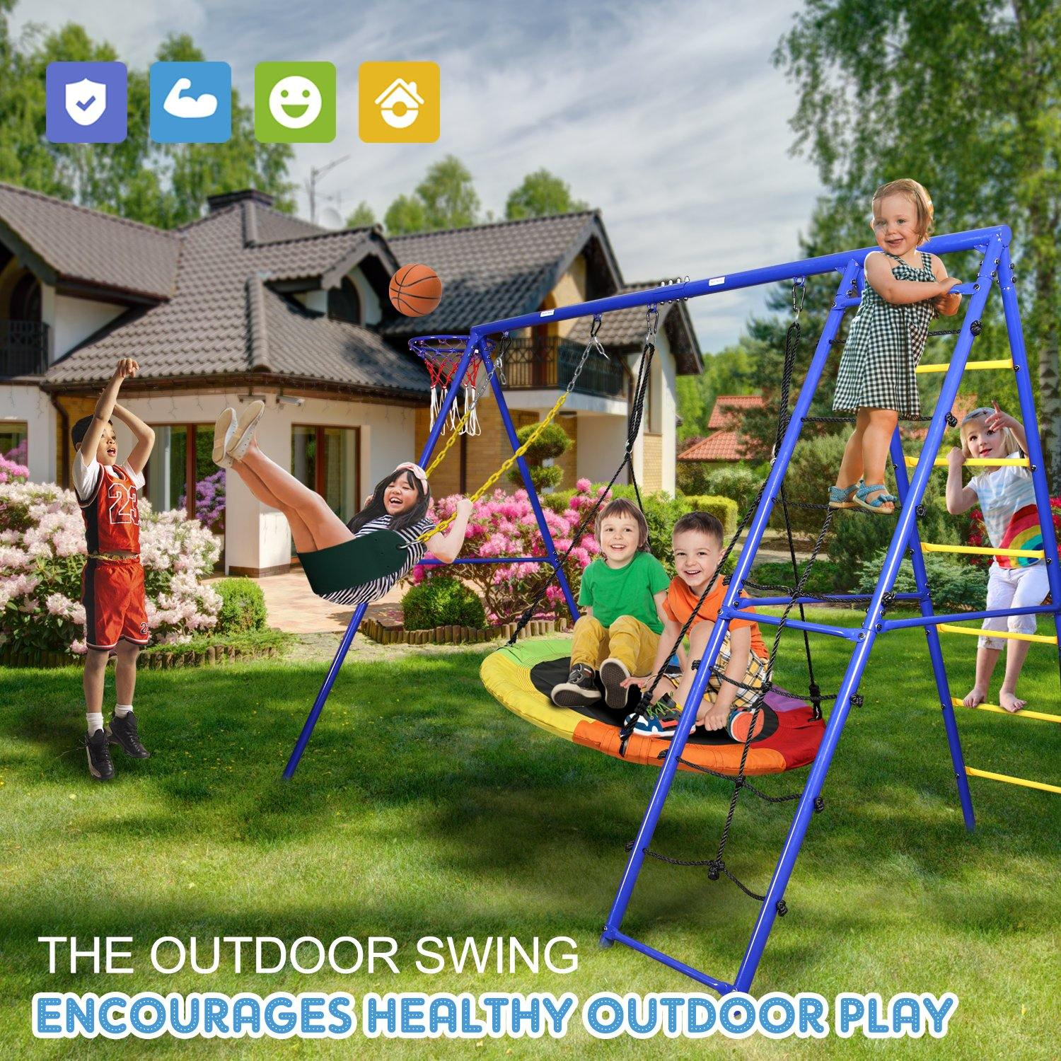 Swing Set: Make Your Yard a Playground for Kids