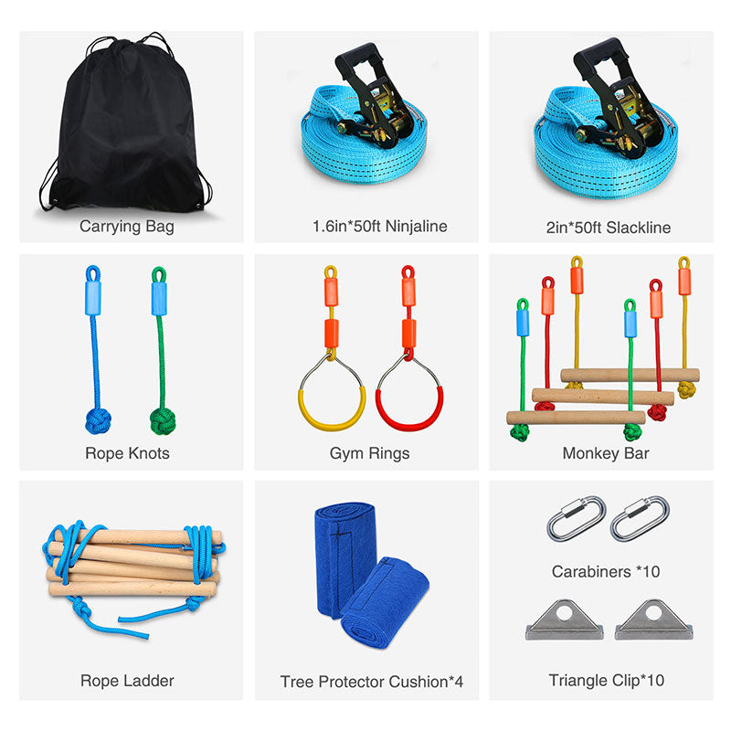 accessories for outdoor obstacle course