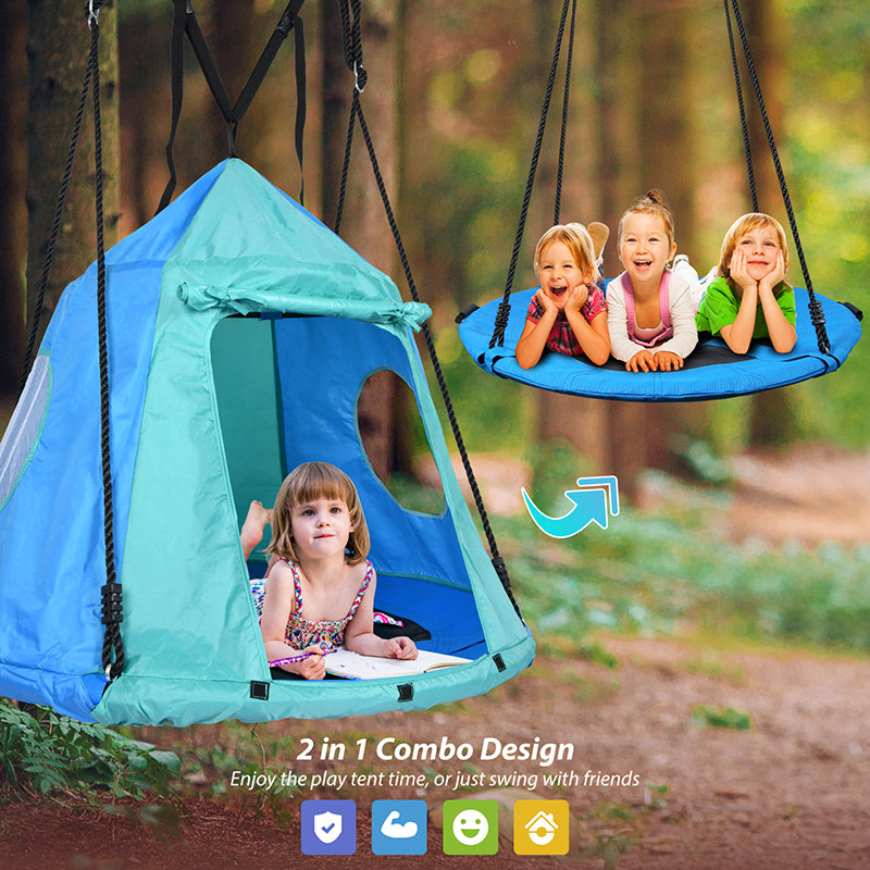 safe and strong saucer swing