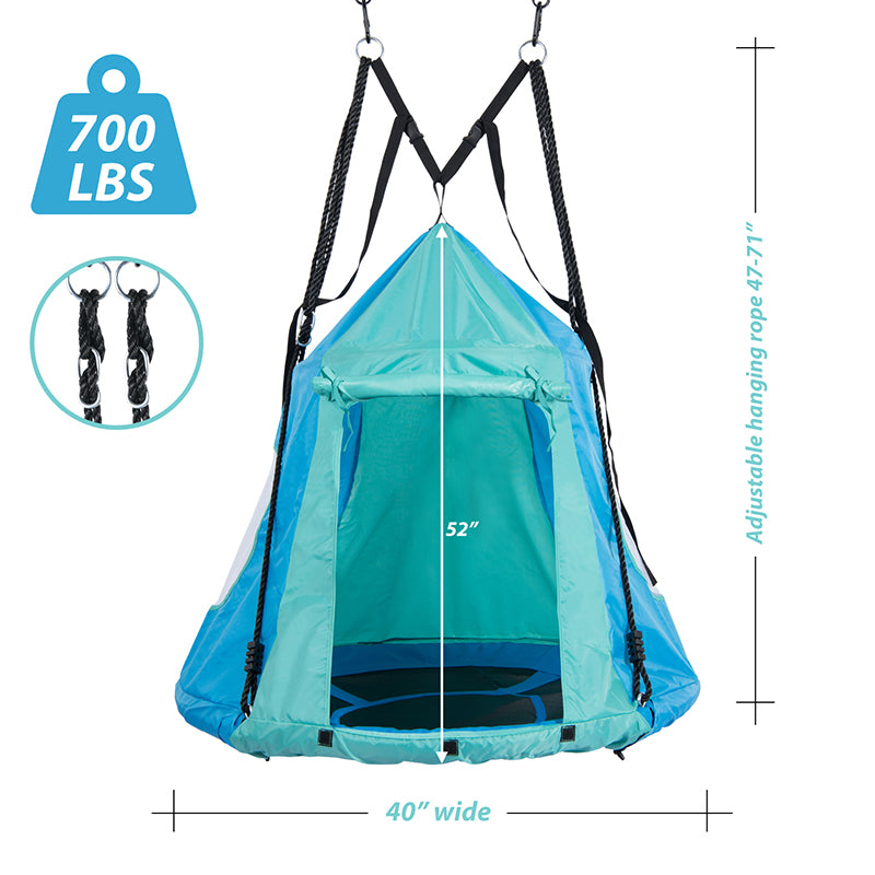 waterproof material for outdoor saucer swing with tent