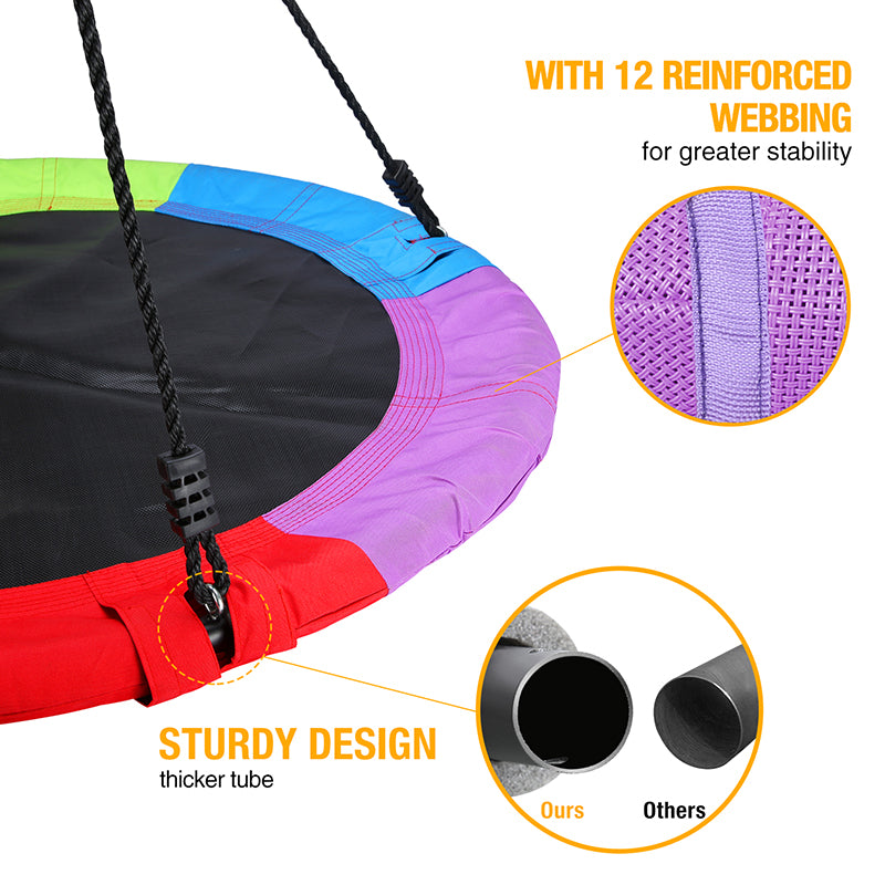 saucer swing for outdoor