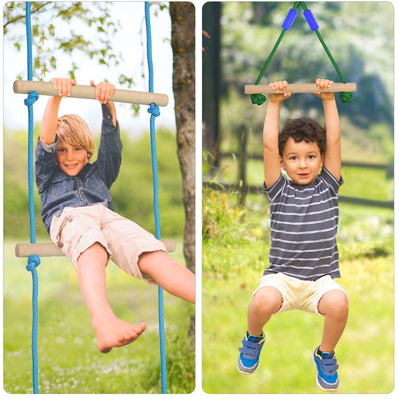 kids outdoor obstacle course kit