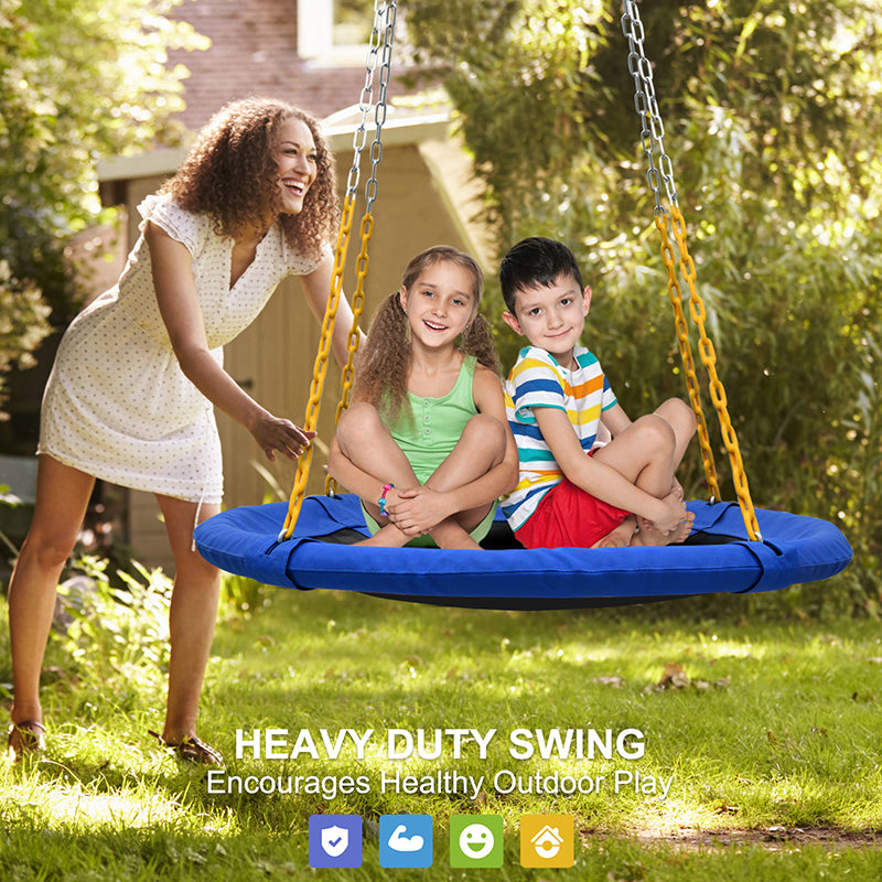 saucer swing for outdoor and indoor