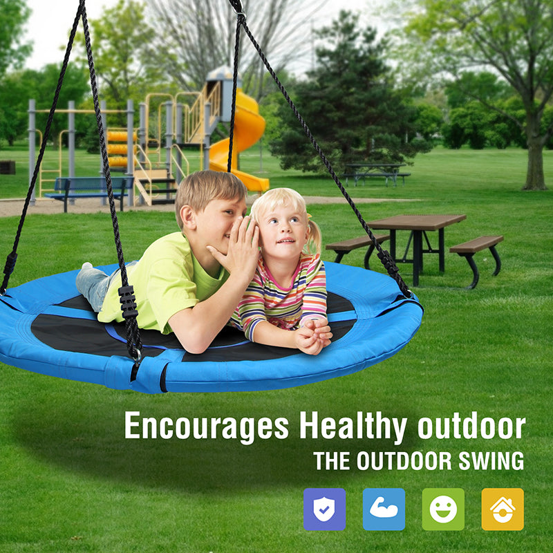 situation for the best kids saucer tree swing