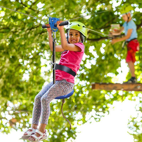kids zipline kit outdoor