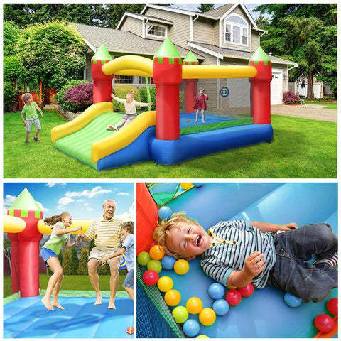 klokick inflatable bounce house