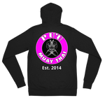 PMT MUAY THAI ADULT HOODIE SWEATER [PINK LOGO]